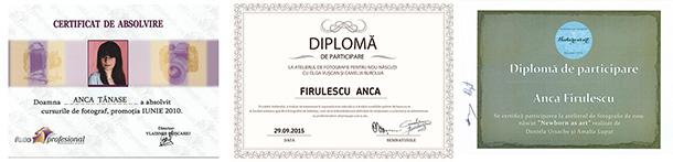 diplome Anca Firulescu